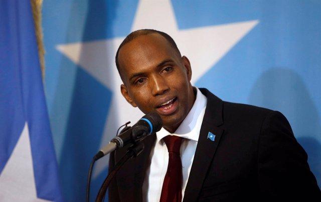 El nuevo primer ministro de Somalia, Hasán Jaire