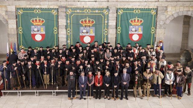 Celebración de las marzas en el Parlamento