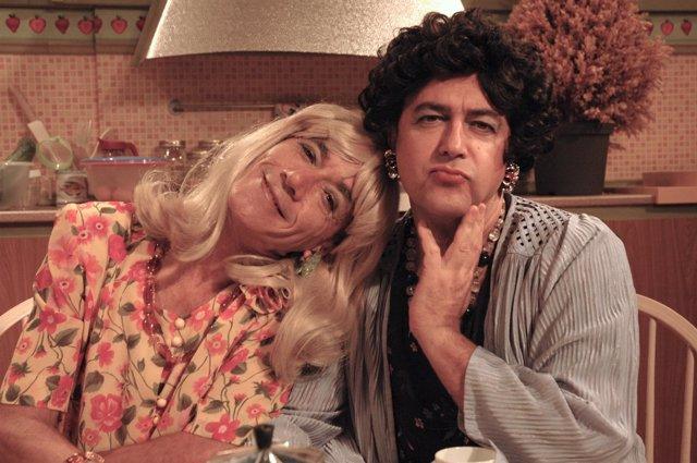 El dúo humorístico Piedra Pómez