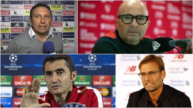 Eusebio, Sampaoli, Valverde y Klopp, posibles entrenadores del Barcelona