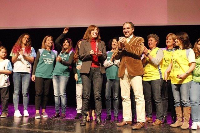 Bendodo gala Reconocidas 2017 málaga igualdad de género diputación de Málaga