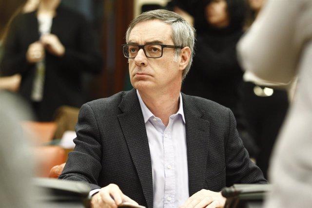 José Manuel Villegas en la Comsión de Justicia del Congreso