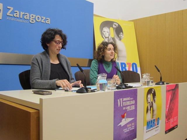Elena Mujer y Arantza Gracia