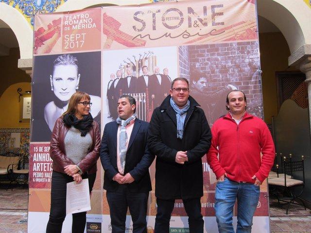 Presentación de algunos conciertos del Stone & Music Festival