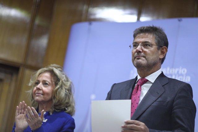 Consuelo Madrigal y Rafael Catalá