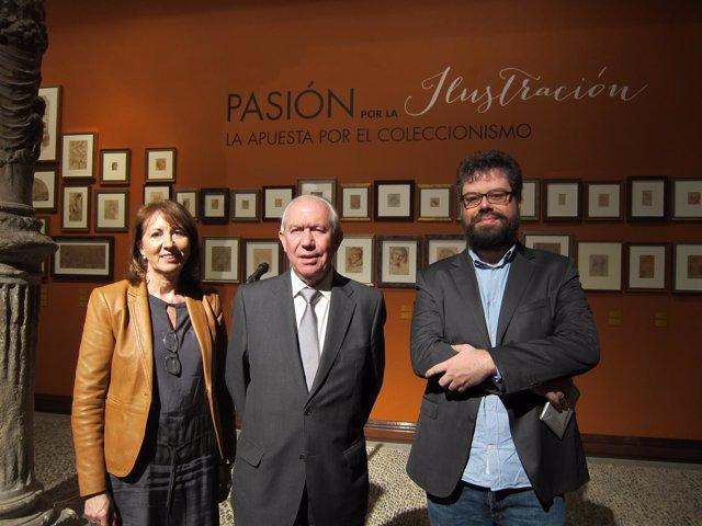 Francisco Bono y Sergio del Molino, esta tarde en el Patio de la Infanta
