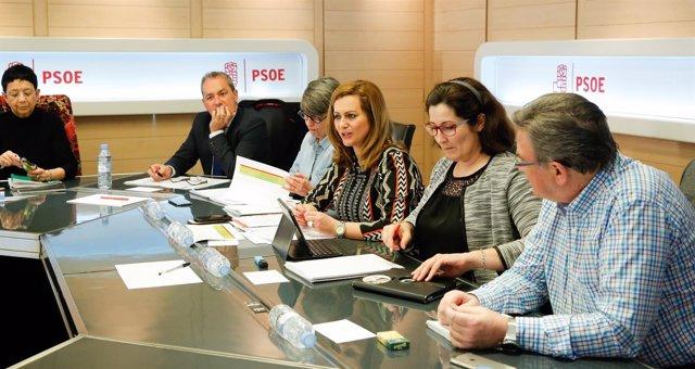 Reunión del PSOE sobre función pública