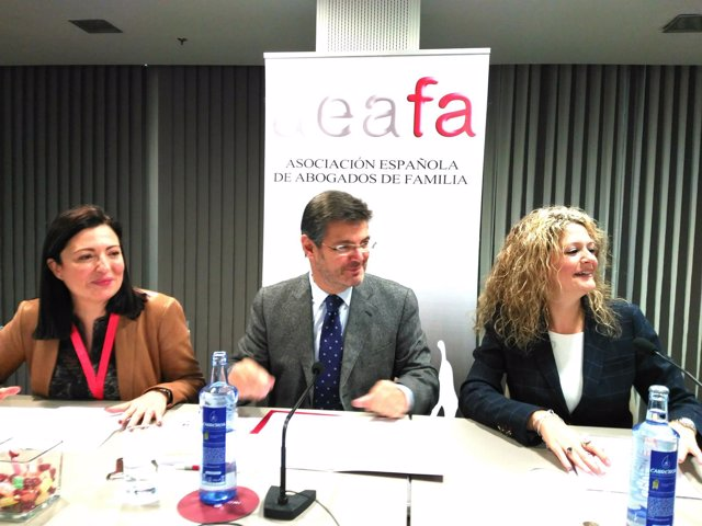 Catalá en el  Congreso de la Asociación Española de Abogados de Familia (AEAFA).