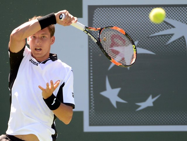El tenista español Pablo Carreño