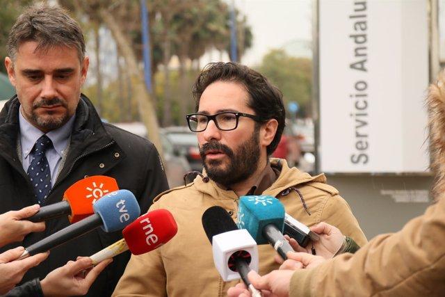 El diputado de Podemos Andalucía por Córdoba, David Moscoso