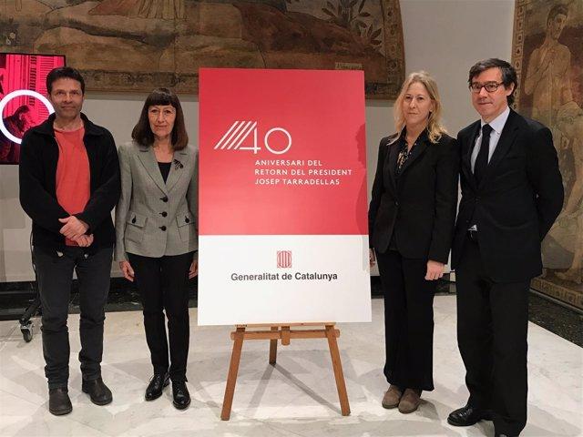 J.I.Aparicio,  M.Catalan, N.Munté y J.Colominas