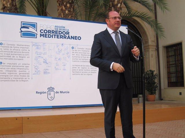 Pedro Antonio Sánchez, Durante Su Intervención