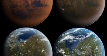 La NASA propone un campo magnético para que Marte recupere sus mares