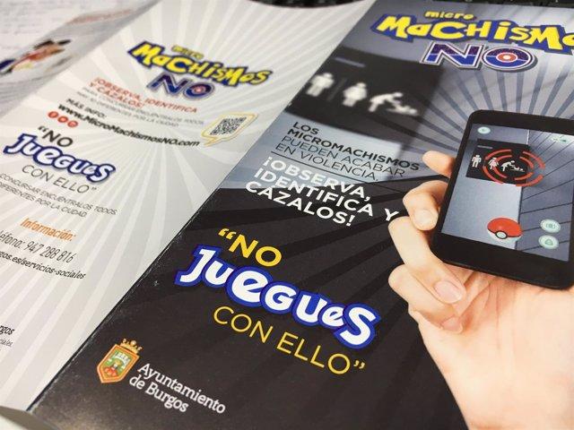 Campaña micromachismos Ayuntamiento de Burgos.