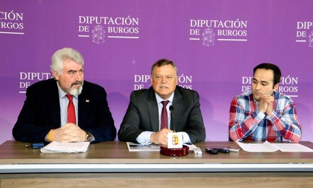 Burgos: Los responsables de  Cs en Diputación de Burgos