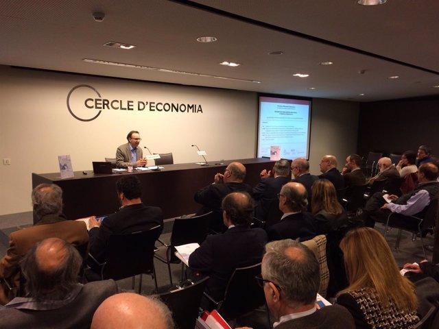 Alejandro Esteller-Moré presenta el Informe IEB