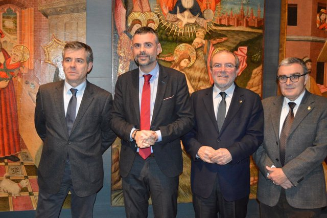 Josep Giralt, Santi Vila, Joan Reñé y Ángel Ros