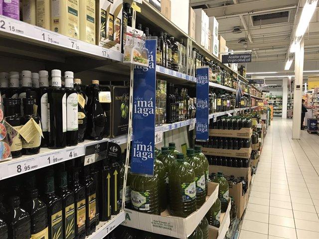 Sabor a Málaga productos autóctonos típicos carrefour málaga