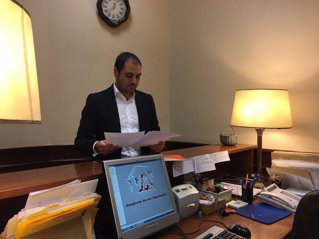 Rodrigo Gómez, diputado de Ciudadanos