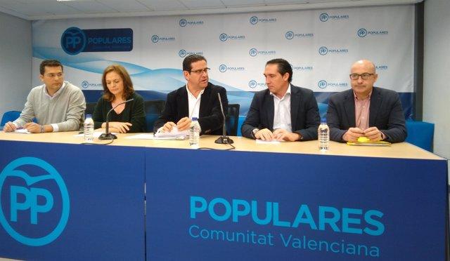 Presentación de las ponencias al Congreso del PPCV
