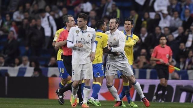 Gareth Bale, expulsado en el Real Madrid - Las Palmas