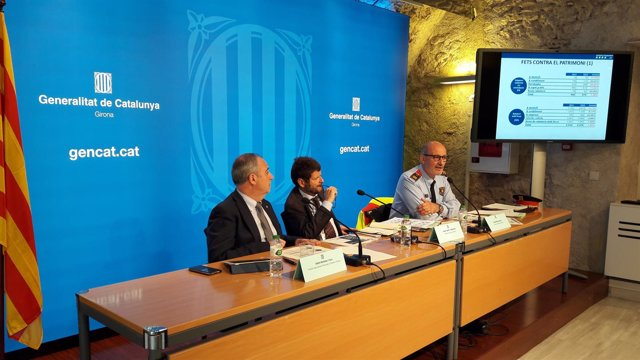 Albert Ballesta, Albert Batlle y Josep Milan