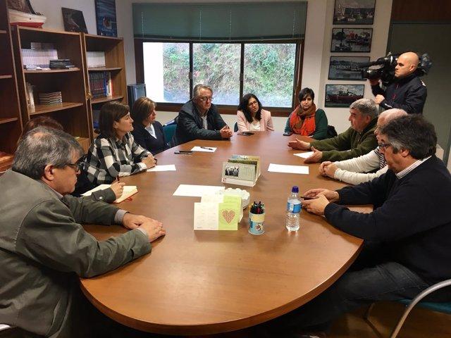Reunión de Pilar Cancela con el cerco.