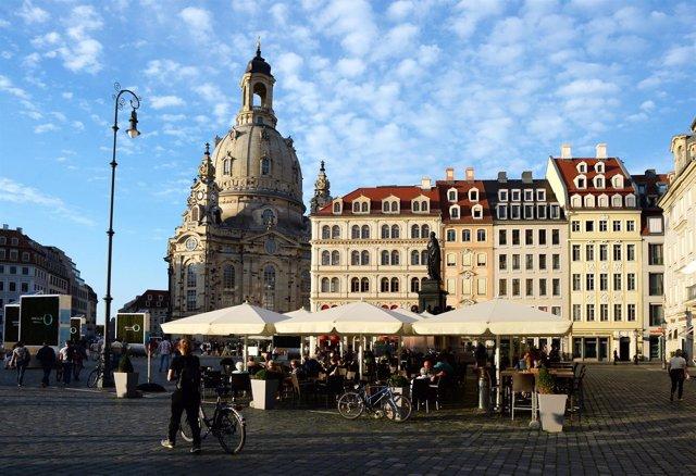 Panorámica de Dresde