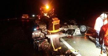 Muere una mujer en un accidente en la A-23, en Muel (Zaragoza)