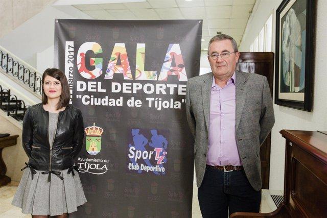 Diputación apoyará la primera Gala del Deporte 'Ciudad de Tíjola'.
