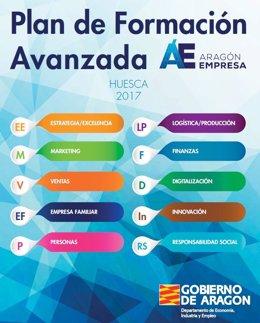 Plan de Formación Avanzada en Huesca.