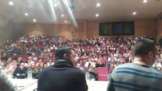 Asamblea de trabajadores de Pescanova
