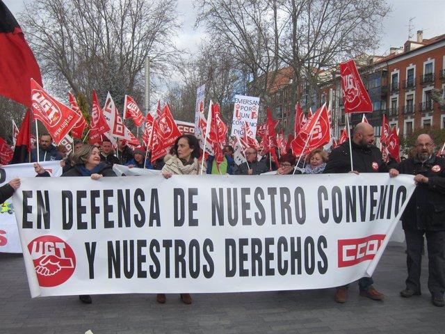 Valladolid. Movilización transporte sanitario