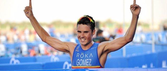 Javier Gómez Noya Series Mundiales Abu Dhabi Dabi
