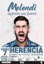 Foto: Melendi actuará el próximo 7 de julio en Herencia con 'Quítate las gafas'