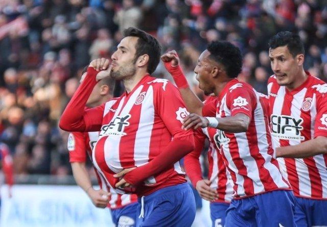El Girona sigue segundo en la Liga 1,2,3