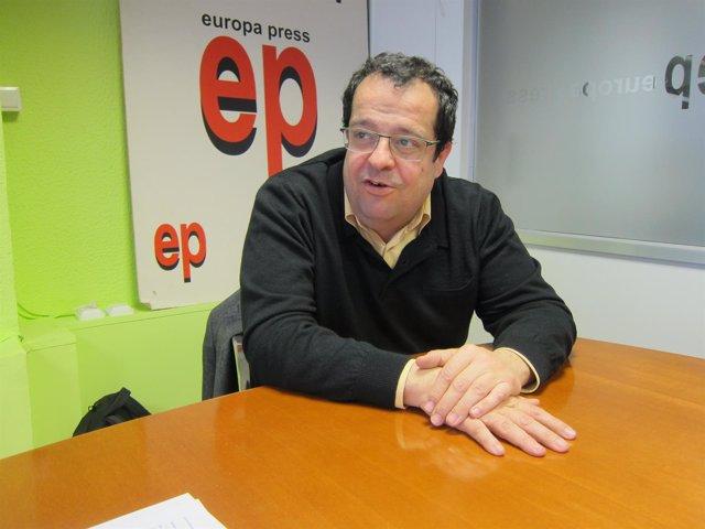 El coordinador del Pacte Nacional pel Referèndum, J.I.Elena.