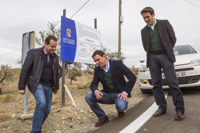 La seguridad laboral en las obras provinciales, compromiso de de la Diputación.
