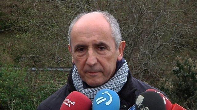 Josu Erkoreka, portavoz del Gobierno vasco