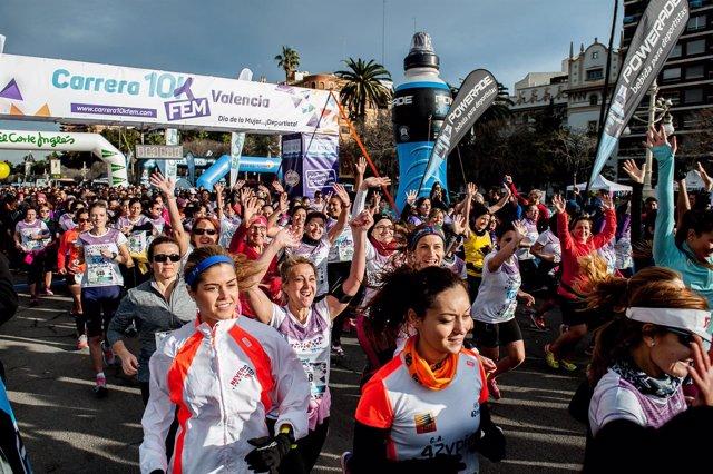 Carrera 10K Fem - Día de la Mujer... ¡Deportista! Valencia