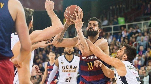 Vítor Faverani Barcelona Lassa UCAM Murcia