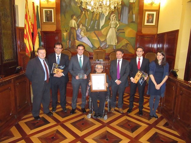 Diputación Almería premiada en Casa de Andalucía de Lérida