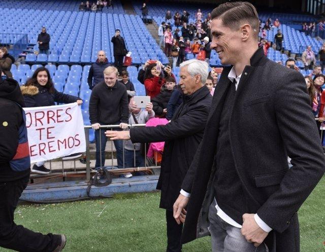 Fernando Torres Vicente Calderón Atlético