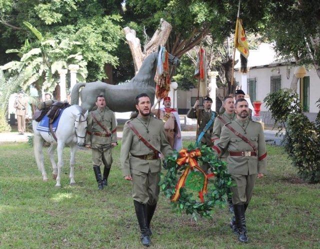 Conmemoraciñon del CCCLXI Aniversario de la Creación de Regimiento Alcántara