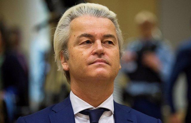 Geert Wilders, líder del Partido de la Libertad holandés
