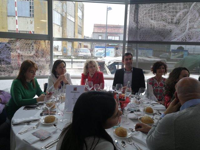 Comida del PSOE de Santoña