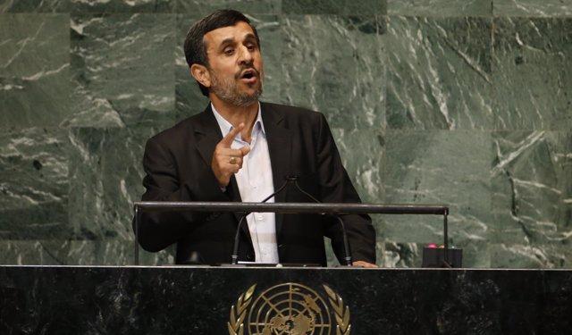 Mahmud Ahmadineyad, en la ONU