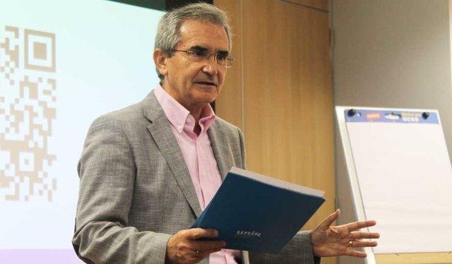 Eelegado del rector de UNIR y Vicerrector de Investigación. Julio Montero
