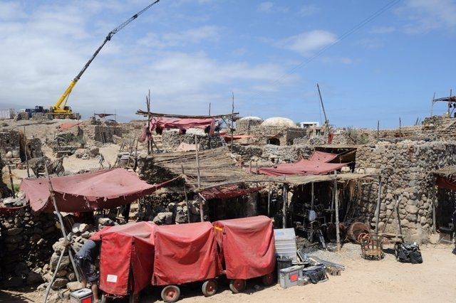 Rodaje de 'Ira de Titanes' en Tenerife