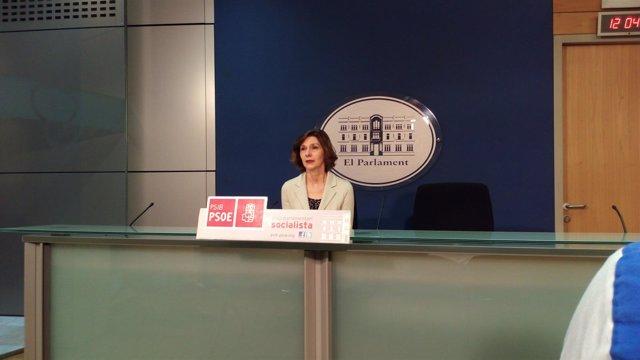 La portavoz adjunta del PSIB, Bel Oliver